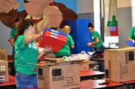Fidelity volunteers provide new look at Holmes Middle School