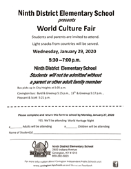 World Culture Flair Flyer