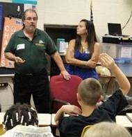 9/11 survivor speaks to Latonia students
