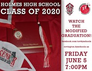 Holmes High School graduation