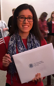 Mayra Guzman becomes US citizen