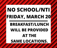 No School Friday, March 20