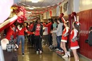 Spirit-filled sendoff to the state tournament