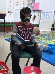 Ninth District Kindergarteners Are Superheroes in Disguise!!