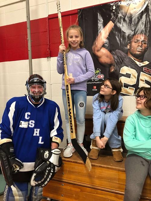 Street Hockey at LES - Latonia Elementary School