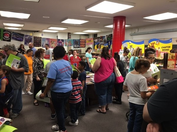 Parents and students made our Literacy Night a huge success!