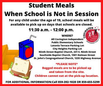 Student Meals Information