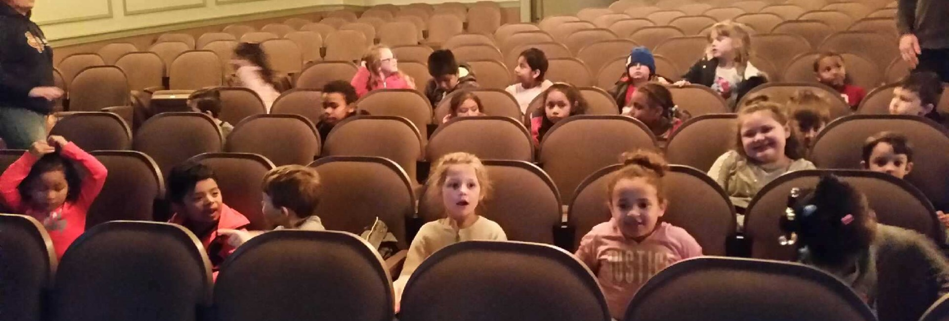 Students enjoy The Jungle Book