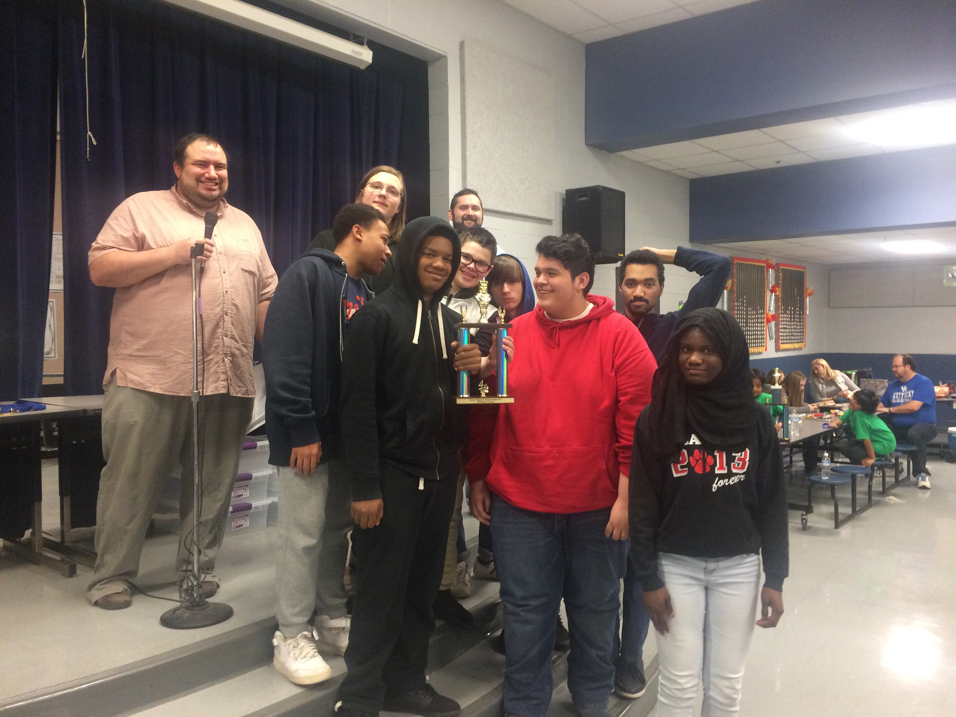 Chess Team Wins Fourth Place at Regionals