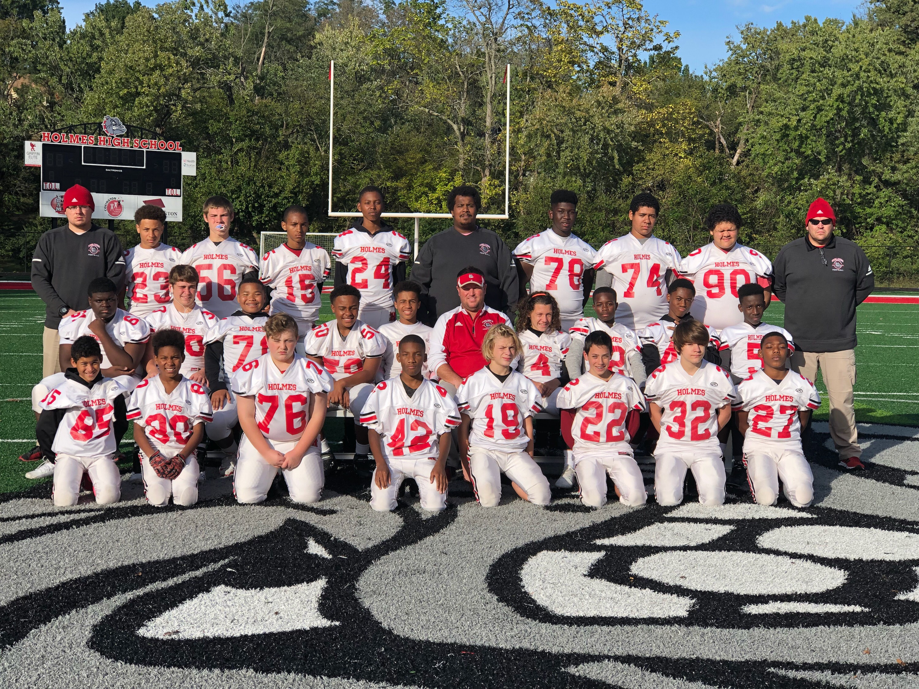 8th Grade Football Team