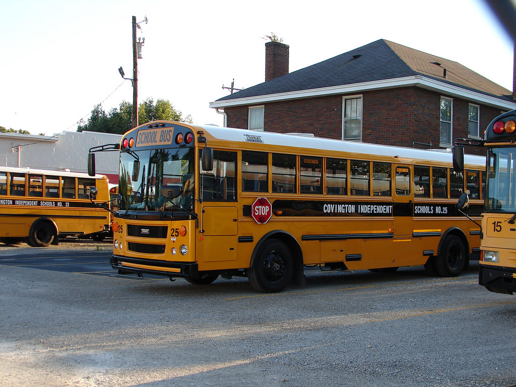 Covington school bus