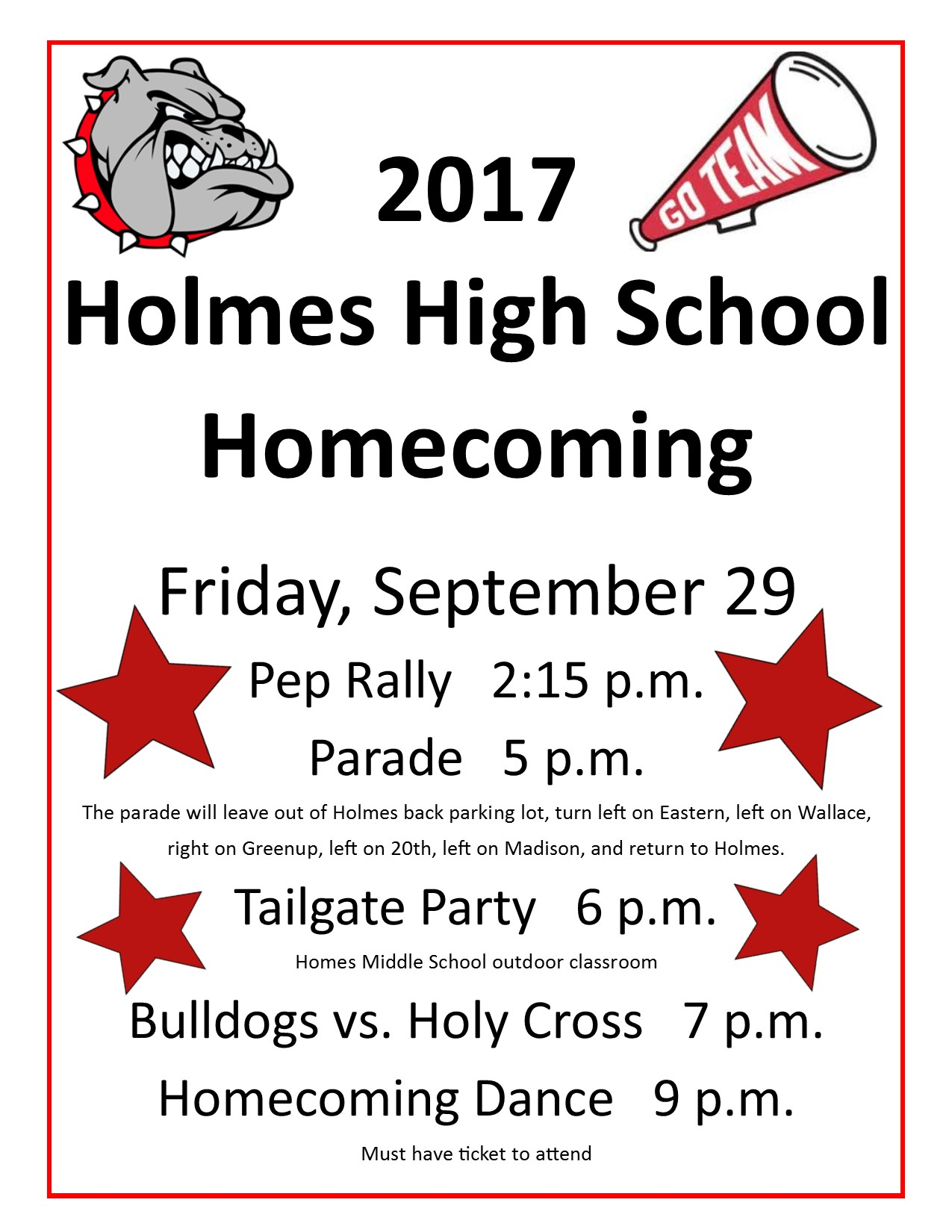 Homecoming 2017