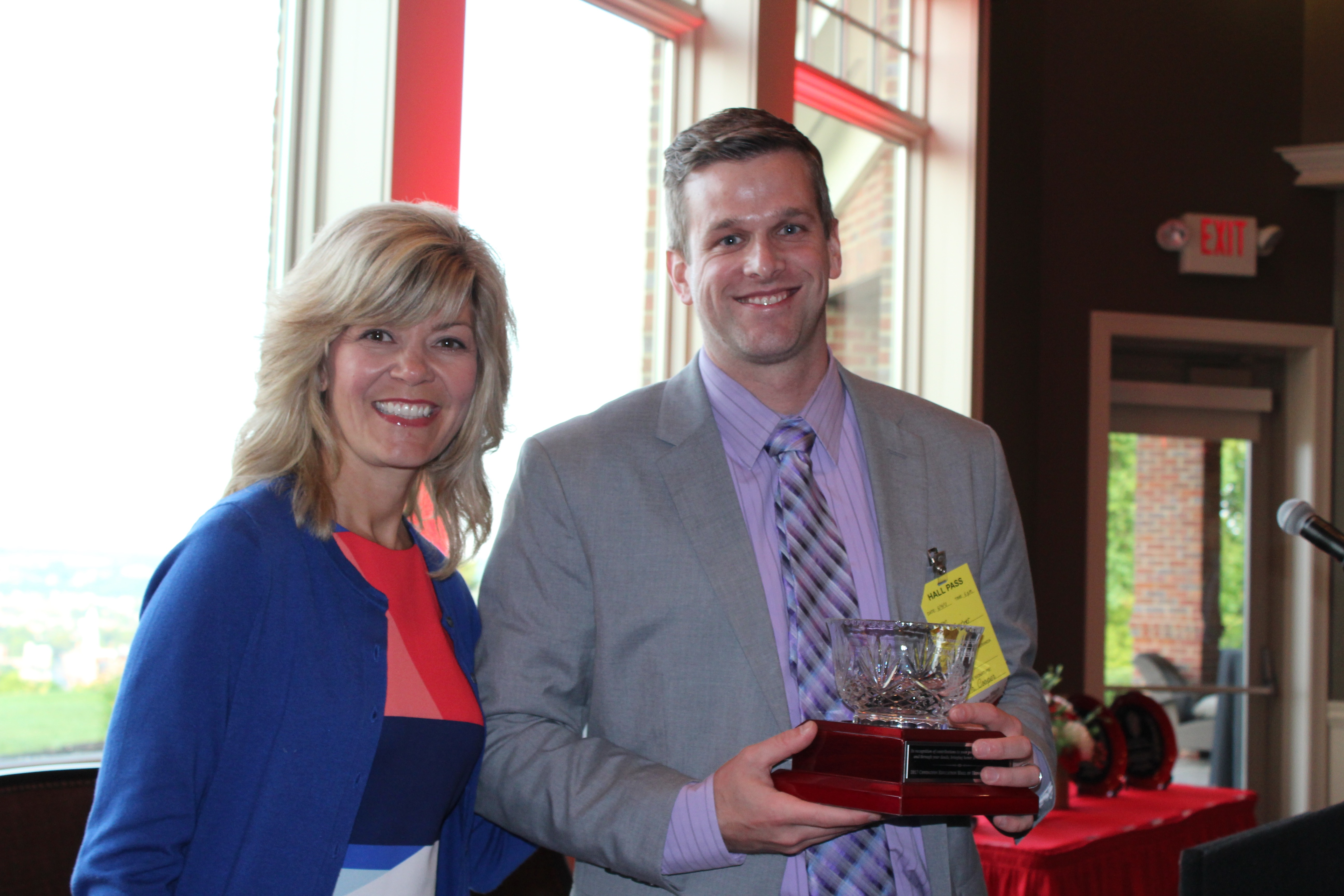 Ryan Fischer, Young Alumnus Award Recipient