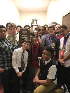 Holmes Middle School Wrestling Team