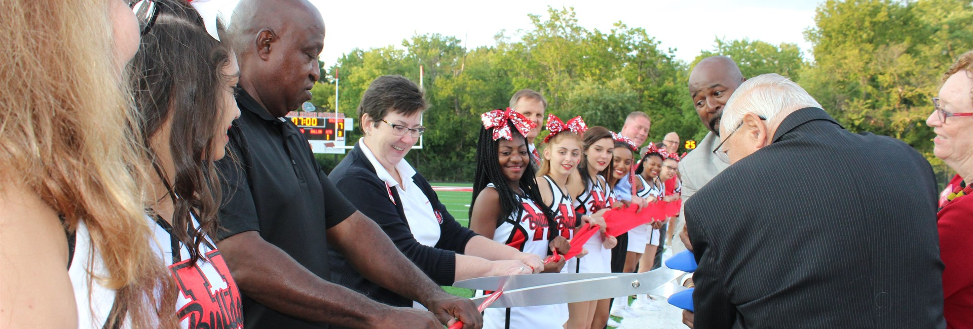 Ribbon Cutting for New Field