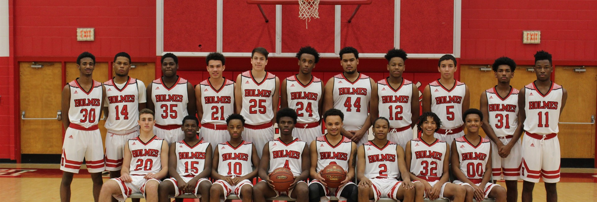 Holmes High School Boys Basketball Team