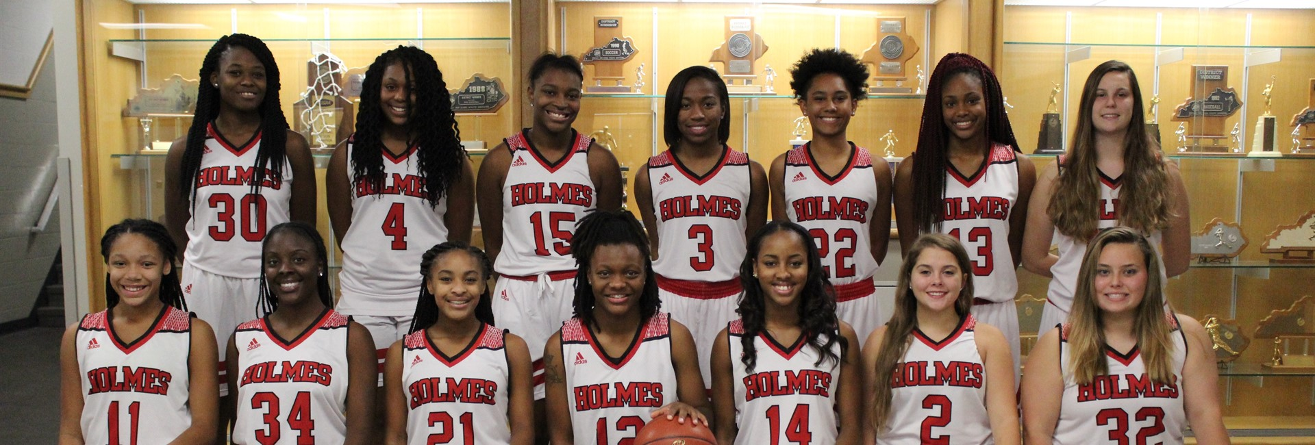 Holmes High School Girls Basketball Team