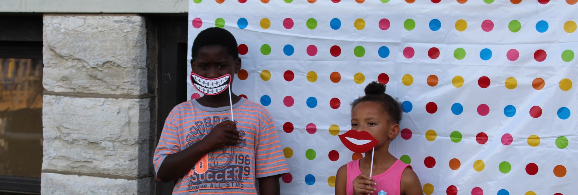 Students have some fun at Meet the Teacher Night.