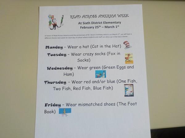 83f4a362 Read Across America Week - Sixth District Elementary School